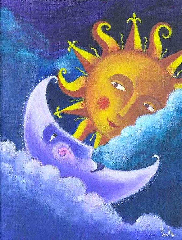 La Luna Y El Sol Cuento Indigena Steemit Cuento De La Luna Hijo De La Luna Leyendas De La Luna