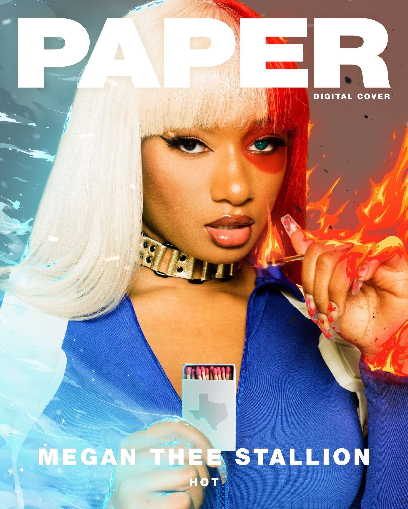 Megan Thee Stallion In 2020 Paper Magazine Cover Stallion Female Rappers