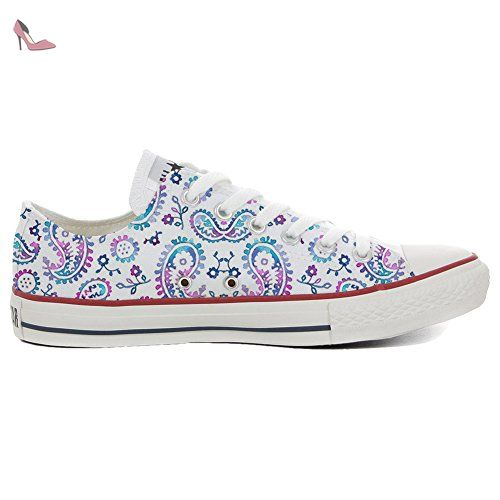 Make Your Shoes Converse Customized Adulte - chaussures coutume (produit artisanal) African Texture size 37 EU kRD2o
