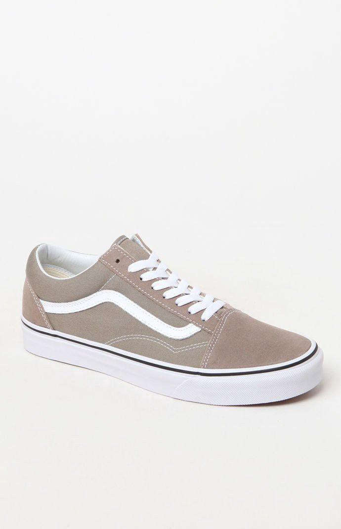 42ffa765cb Vans Old Skool Taupe Shoes - 10.5