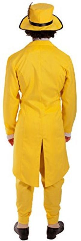 The Mask Jim Carrey Fancy Dress Deluxe 90s Gangster Zoot Suit Costume With Mask!