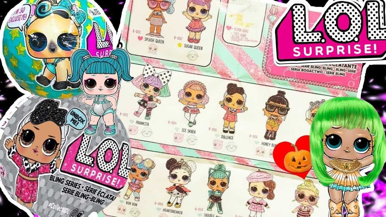 Lol Surprise Dolls Names List Pictures Glamstronaut New Bling Series Lol Loldolls Lolsurprise Lolsu Cute Panda Doll Videos Spot The Difference Games
