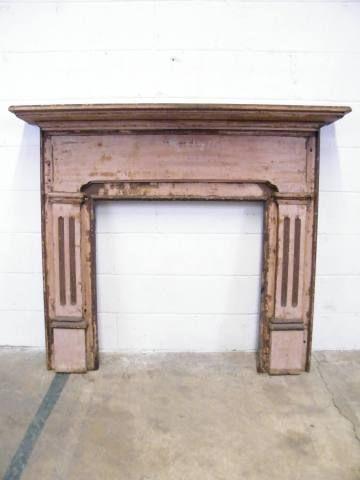 Columbus Architectural Salvage - Wood Fireplace Mantel