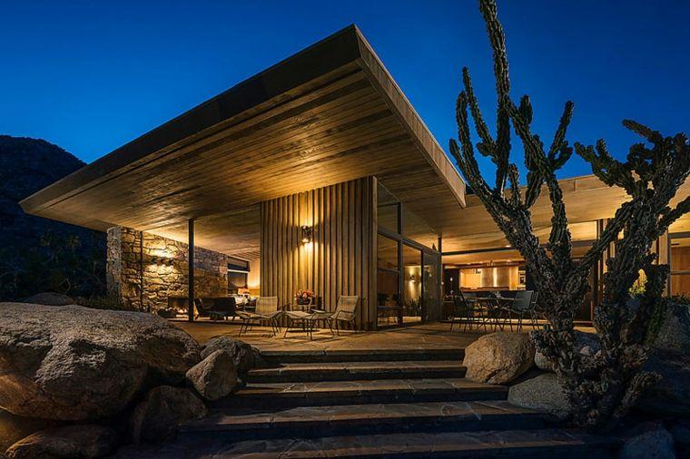 Arquitectura y dise o elegante de un espacio con acabados for Arquitectura y diseno de casas modernas