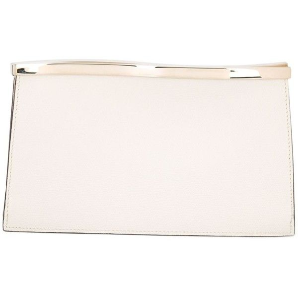 Valextra Wavy Clutch 1 191 Liked On Polyvore Featuring Bags Handbags Clutches