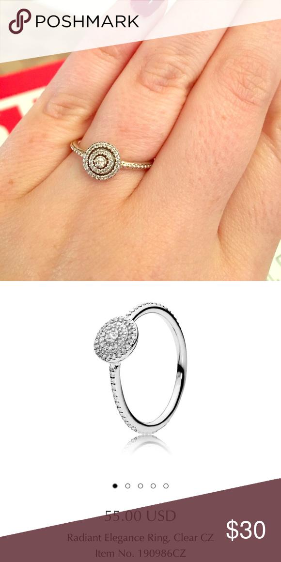 dbb93e00c39c7 discount pandora rings radiant elegance