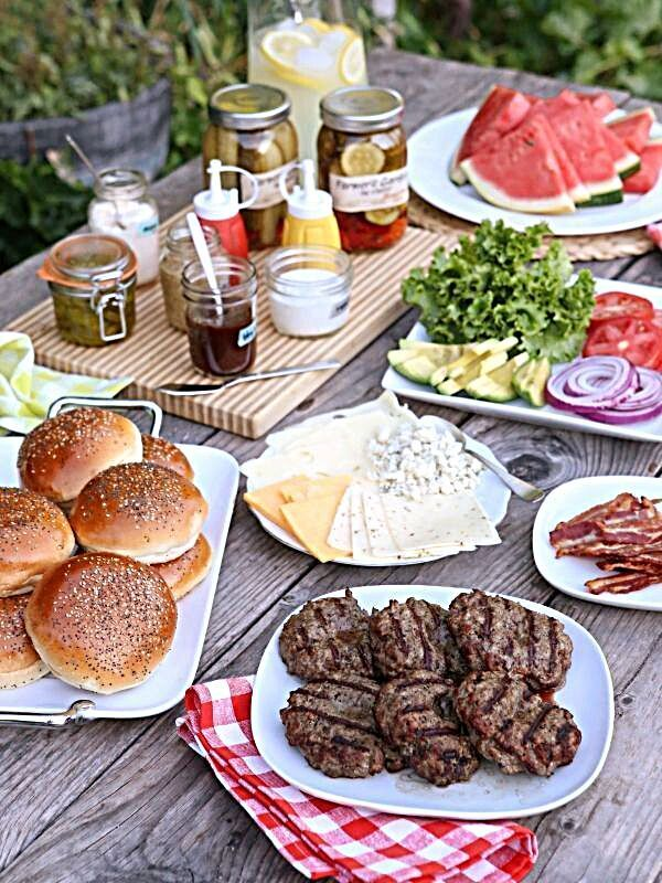 A classic burger recipe that's uncomplicated and delicious! These burgers are super flavorful and very juicy. The Best Burgers - Build Your Own Burger Bar - great idea for an informal wedding breakfast! | wedding food burgers #wedding #food #FoodOfIG #foodblogfeed #foodrevolution #foodlover #foodphotograph #foodgasmic #food #foodig #foodbaby #foodph #art #vegan #foodquotes #yum #follow