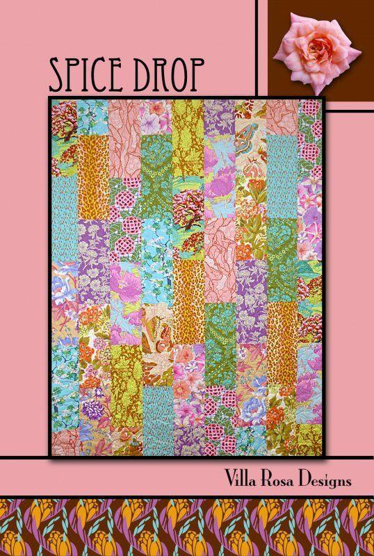Spice Drop Quilt Pattern by Villa Rosa Designs