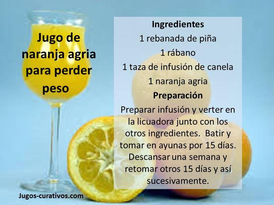 carbohidratos de la naranja agria