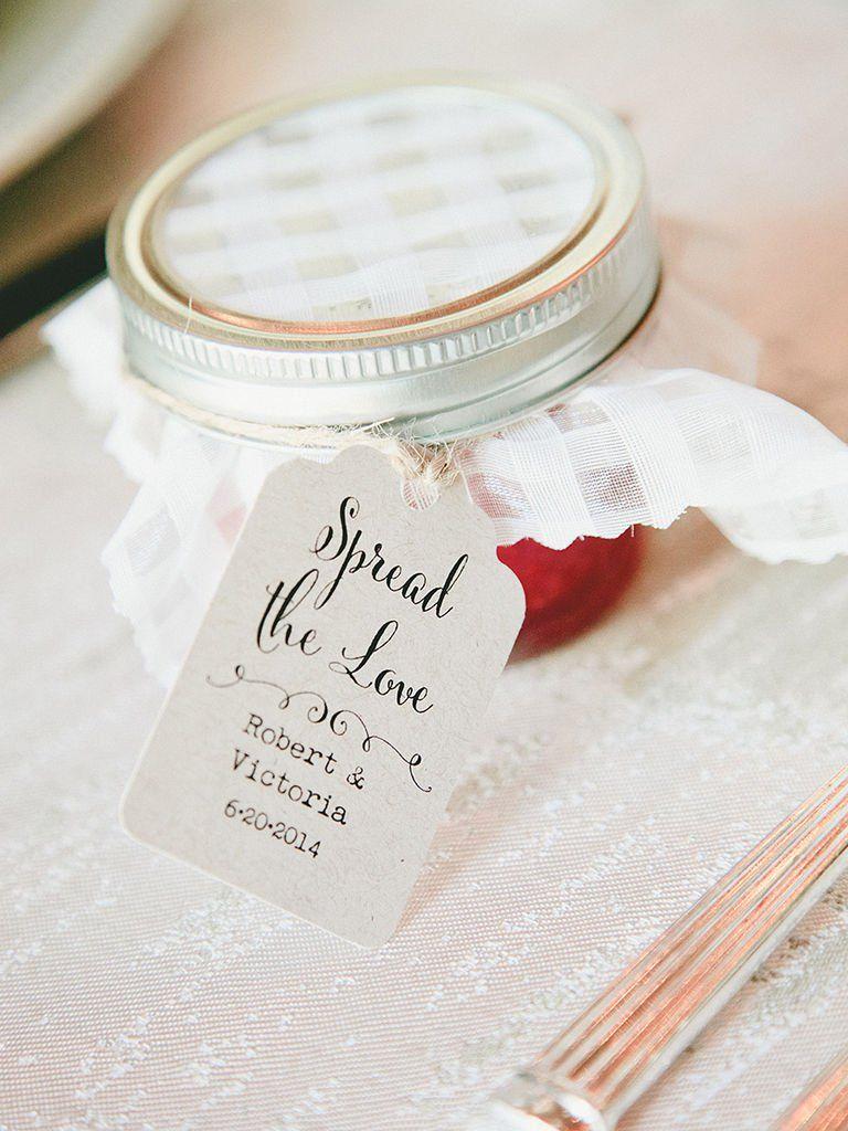 17 Creative DIY Wedding Favor Label Ideas   Wedding favor labels ...