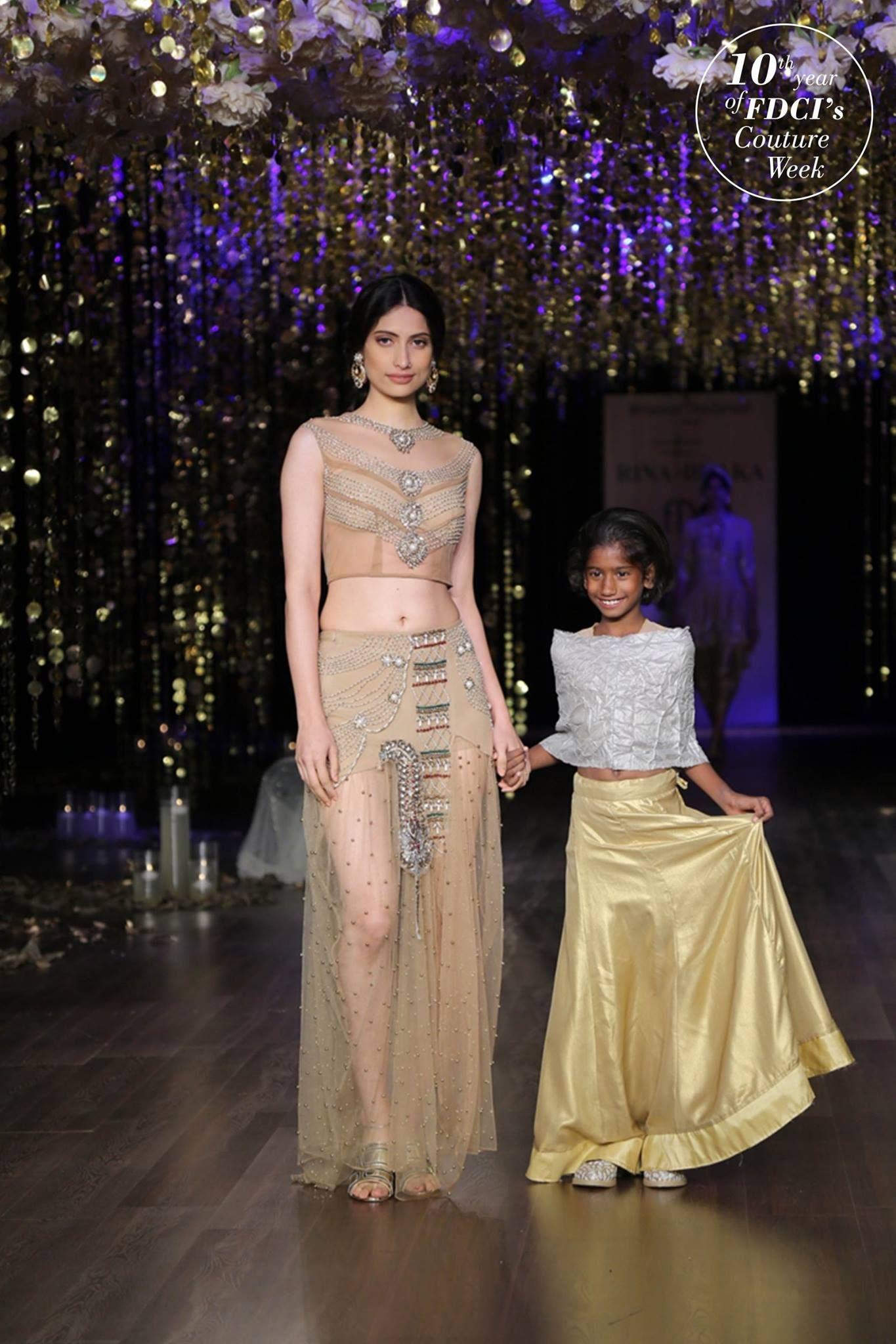 Rina dhaka india couture week india couture week