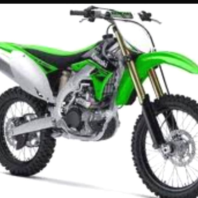 A Cleaner And Newer Version Of Jezabel Kawasaki Dirt Bikes Kawasaki Motorcycles Motocross Bikes