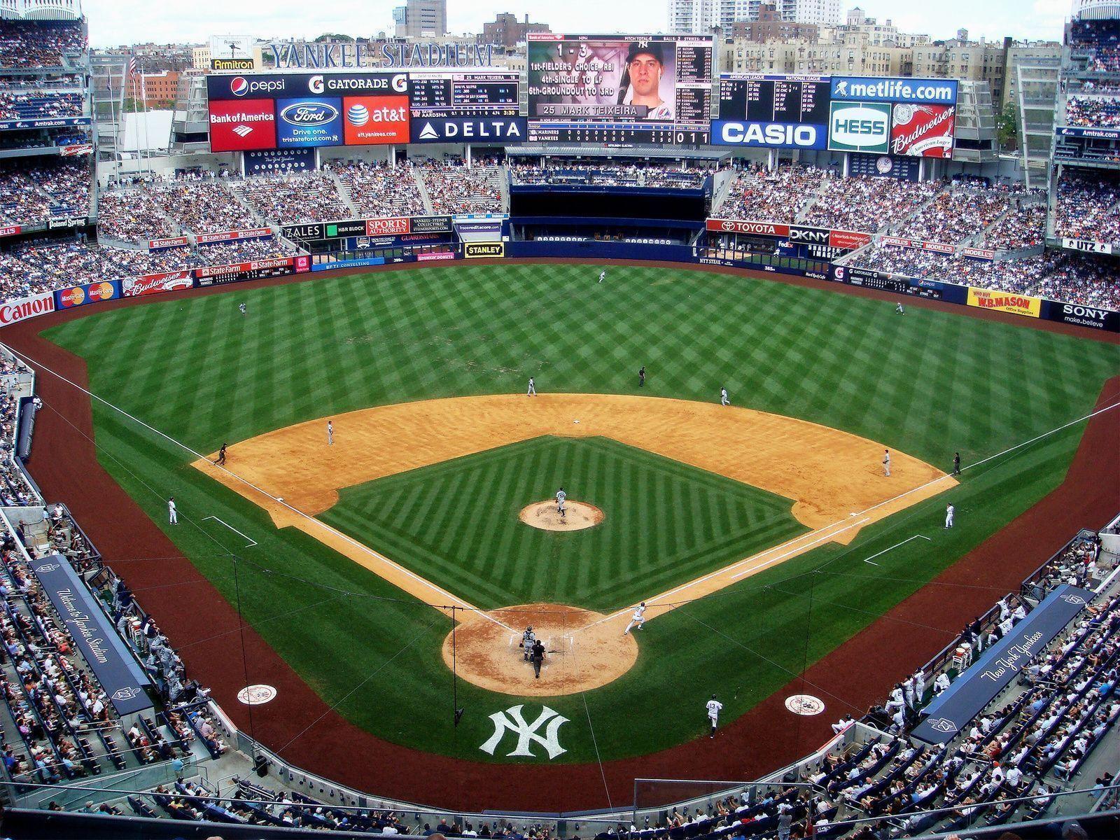 New York Yankees Stadium Wallpaper New York Yankees Stadium Yankee Stadium Baseball Stadium