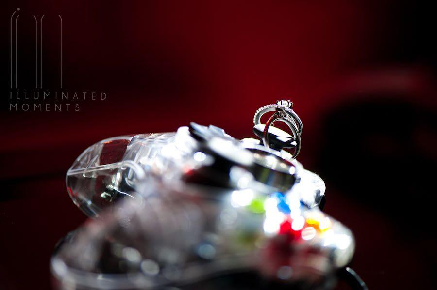 Illuminated Moments Xbox Wedding Rings Creative wedding ring