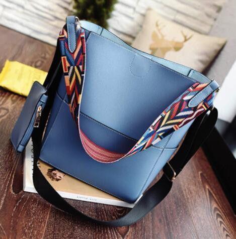 ANAWISHARE Women Leather Handbags Bucket Bags Large Shoulder Bags Crossbody  Bags Ladies Designer Tote Bags Bolsa Feminina   Products   Pinterest   Bags,  ... 63902fb291