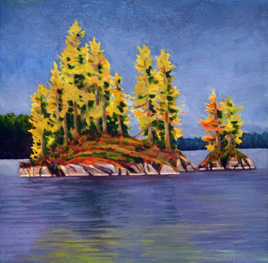 Overlooking The Ottawa Valley by Melissa Jean, Acrylic on Canvas, Painting | Koyman Galleries