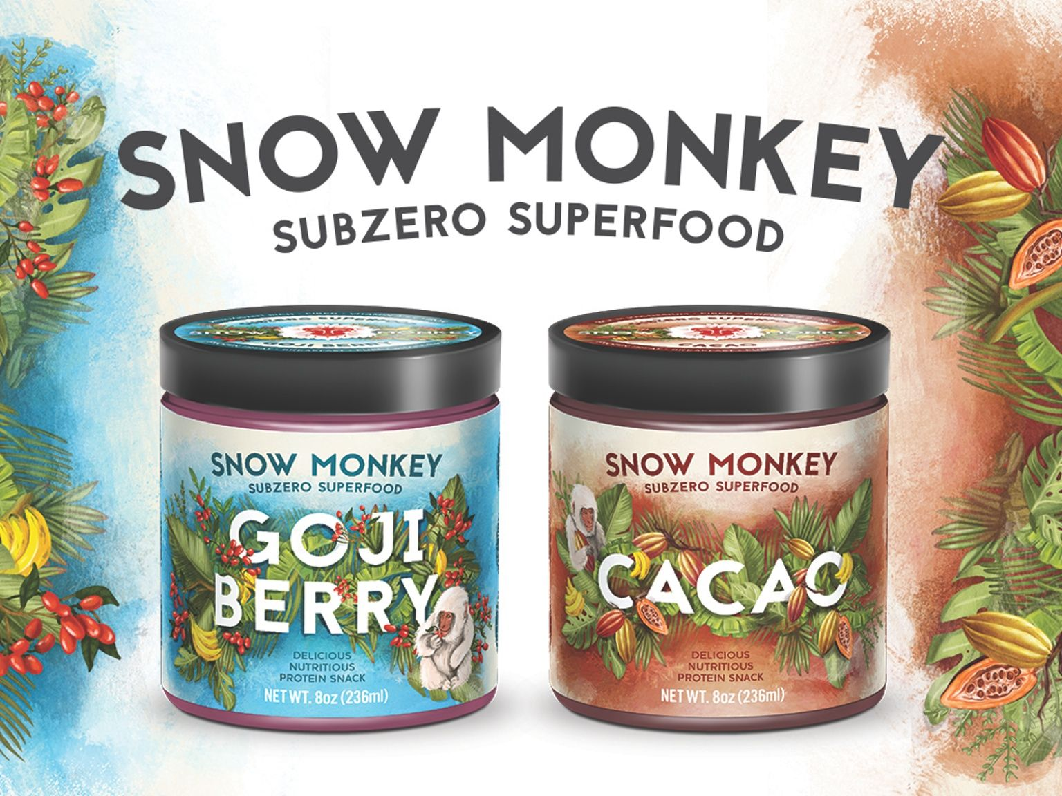 Subzero Superfood. Frozen blend of premium superfoods, fruits, and seeds. Think Ice Cream, but better • Vegan • Paleo • High Protein •