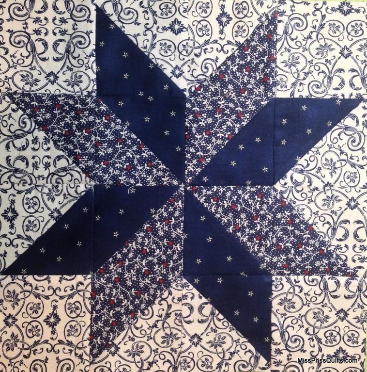 Easy Lemoyne Star Star Quilt Blocks Quilts Star Quilt
