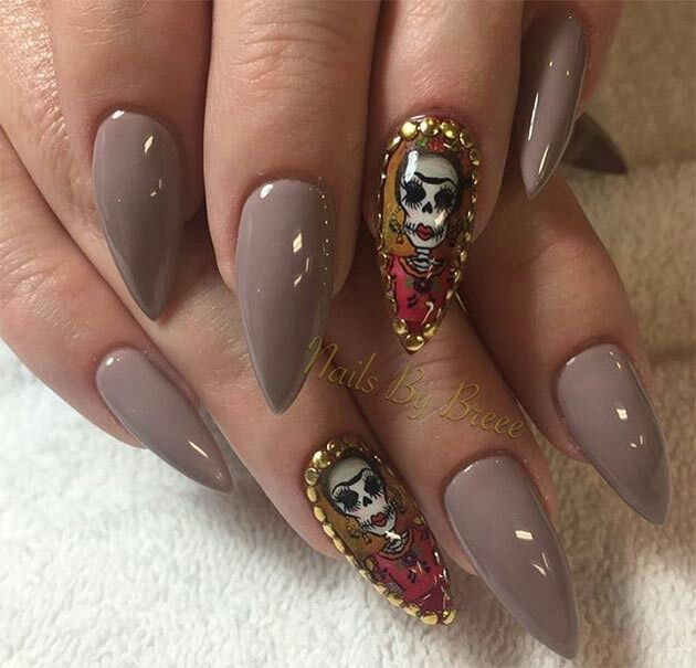 Pin by roya ry on nails | Halloween nail art, Halloween ...