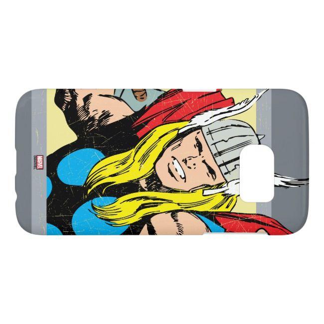 Thor Retro Graphic Samsung Galaxy S7 Case