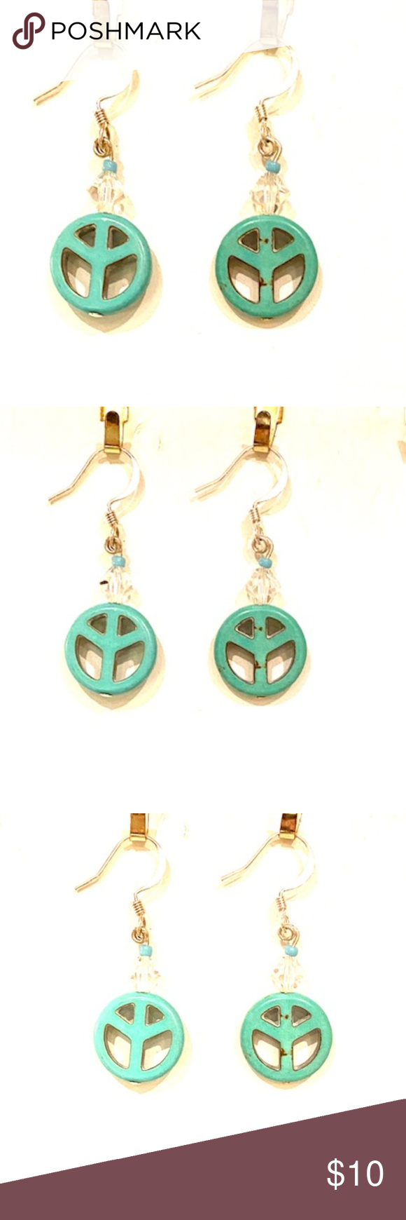 Download Bundle 3 for $20 Jade Peace Earrings | Peace earrings ...