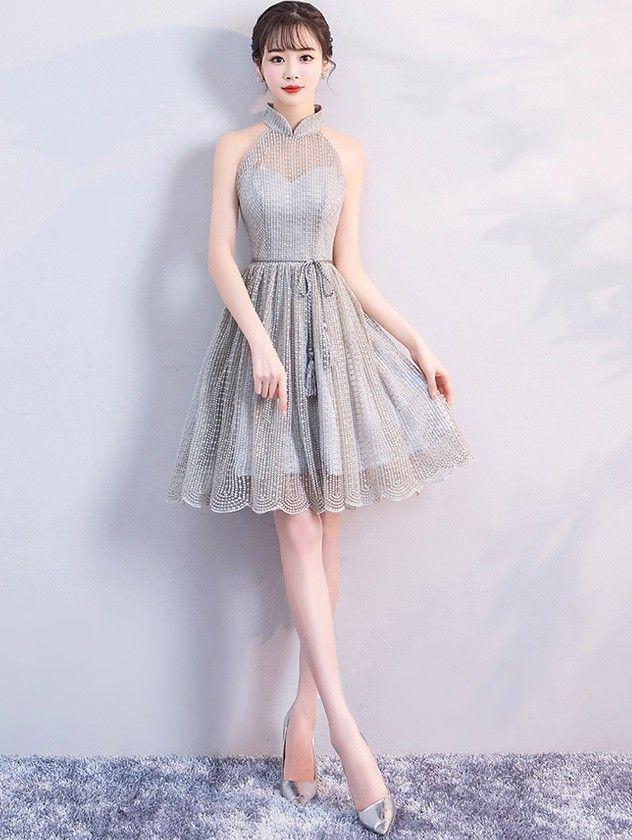 Asian cocktail dress girls