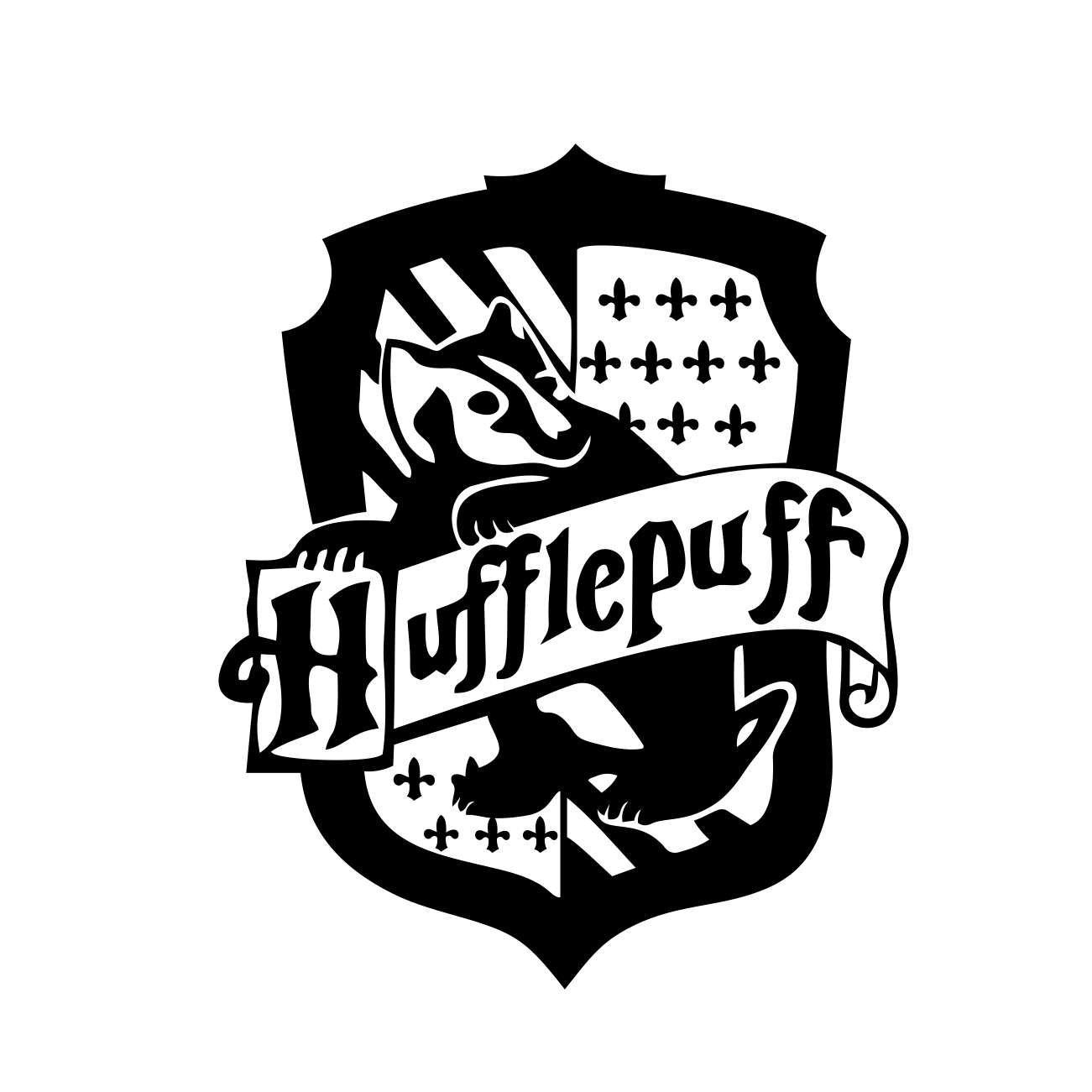 Hogwarts Crest Wall Decal Etsy