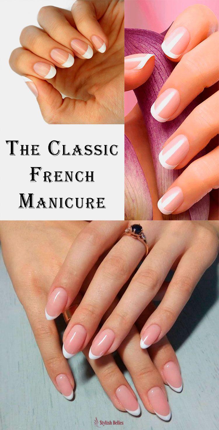9 Stunning Modern French Manicure Ideas Nails Pinterest