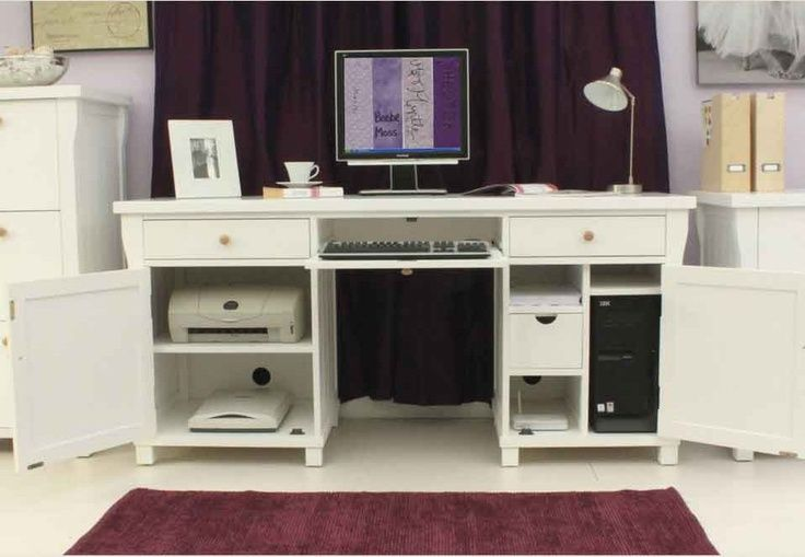 Part Of Our Fresh New England Hampton White Home Office Range Supplied With Two Sets S So You Can Choose Which Best Compliments Your Decor This