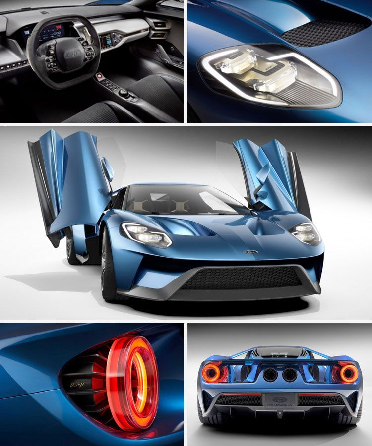 The Last American Super Sports Car. 2016 Ford GT