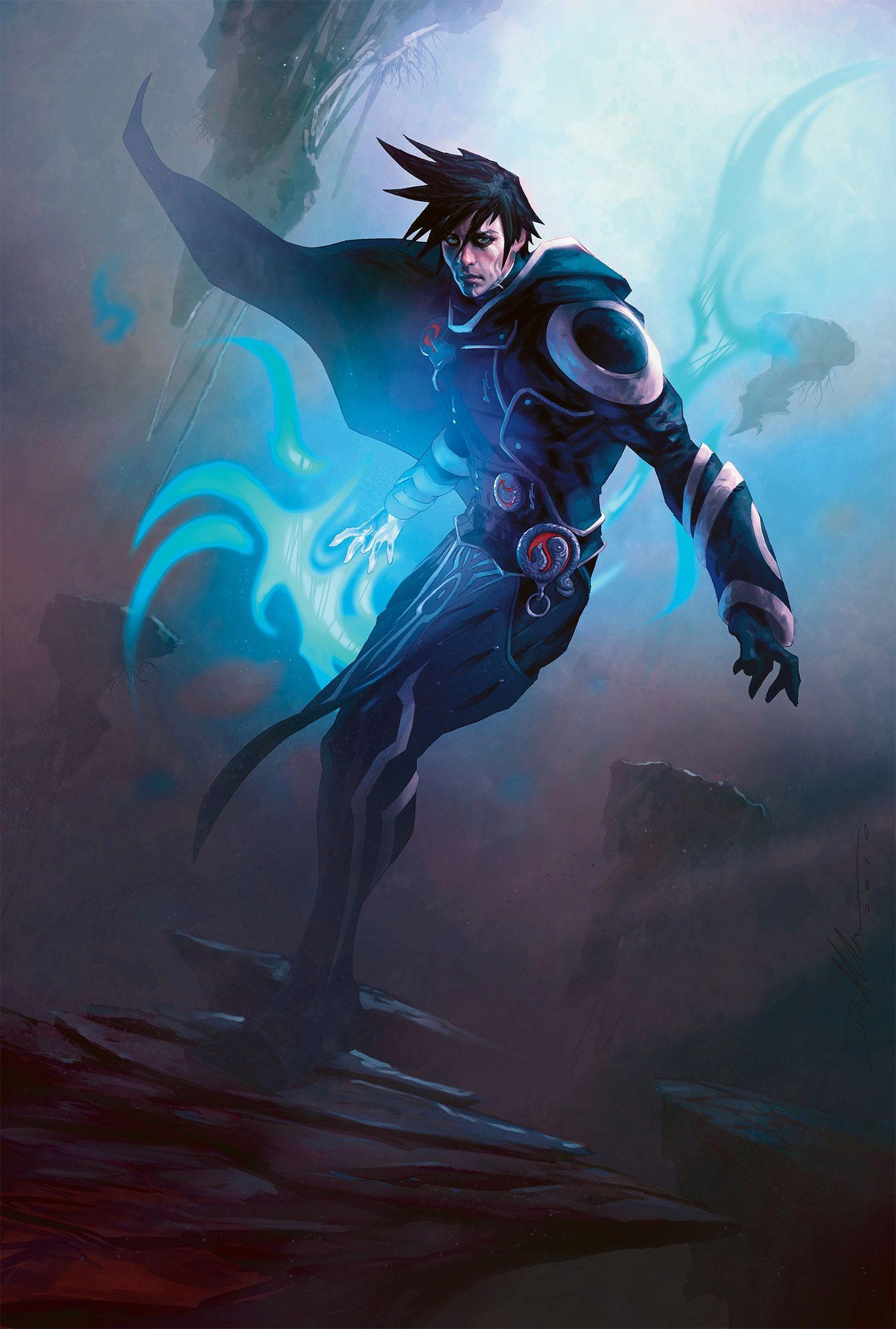 Jace Memory Adept Fantasy Art Magic Art