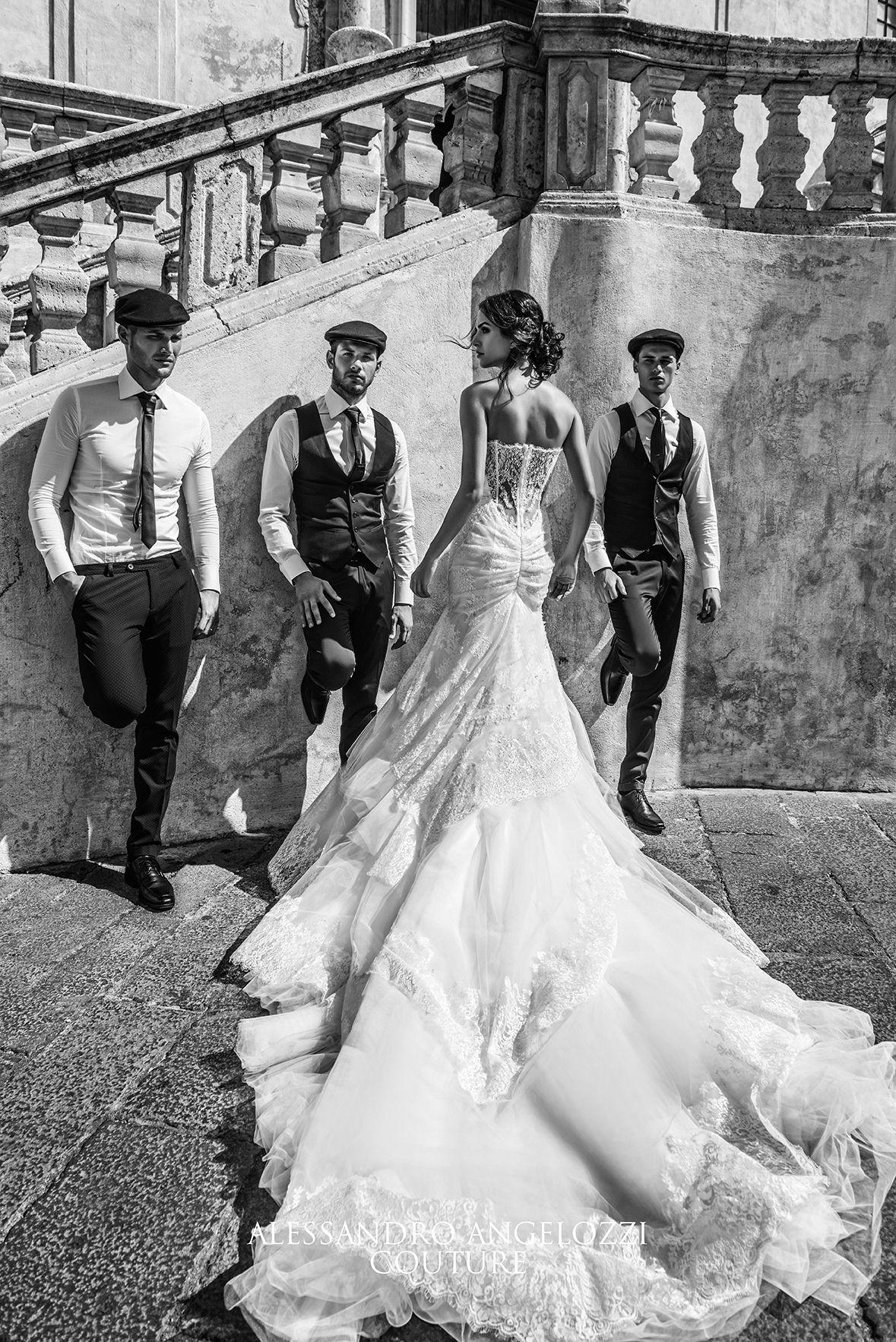 #AlessandroAngelozziCouture #weddingdress2016 #anitalianlovecollection #RocioMuñozMorales