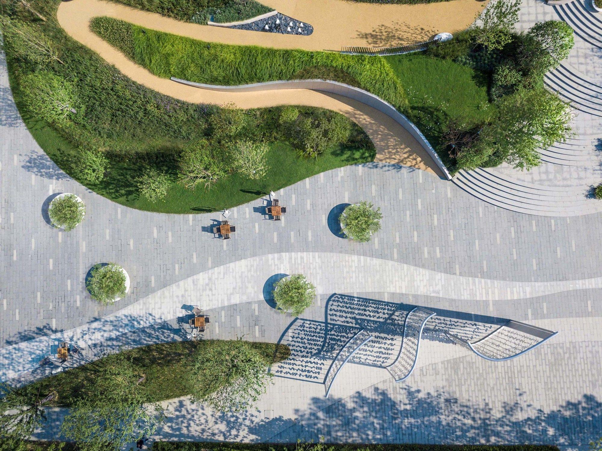 Lakeside Garden Topos Landscape Architects Landscape