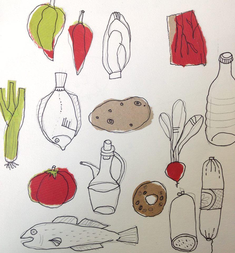 Pepa Aoiz - bocetos para expo-milano 2015