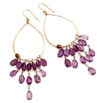 I would love a pair of chandelier earrings. they don't have to be JUST like this though :)