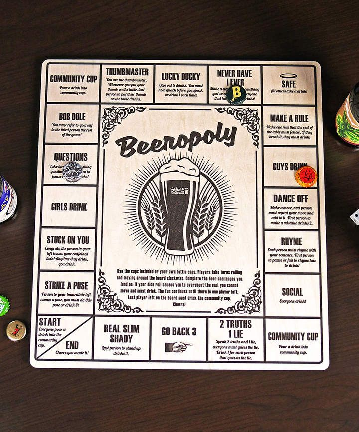 beer drinking card games for 2