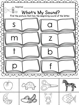 BACK TO SCHOOL FREEBIE! - What\'s my sound - what\'s the number ...