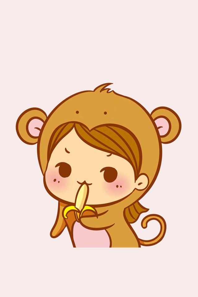 Monkey Cute Cartoon Drawings Cartoon Wallpaper Iphone Cute Dog Drawing Cute baby monkey cartoon wallpaper