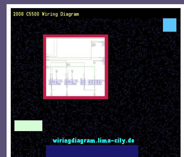 2008 C5500 Wiring Diagram  Wiring Diagram 18237