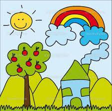 Resultado De Imagen Para Paisajes Animados Para Ninos Ninos Y Ninas Animados Ninos Leer En Casa