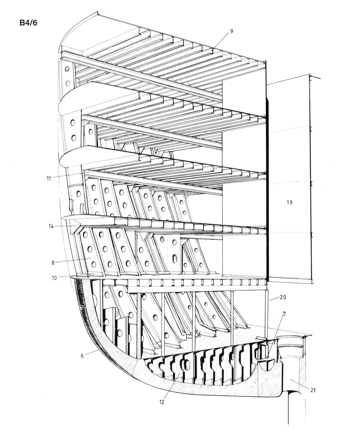 Structure Of The Queen Mary S Stern In