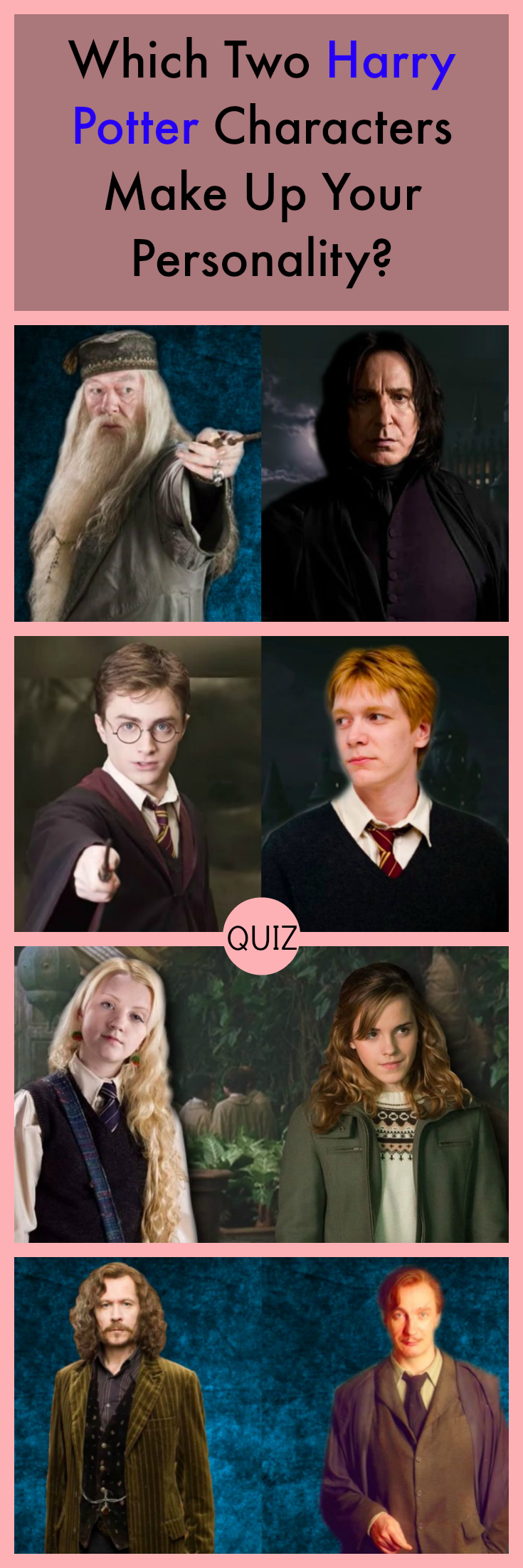which harry potter character is your lover quiz
