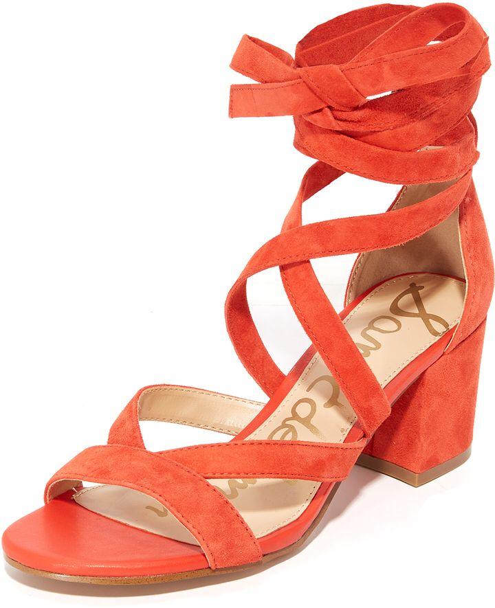 9c0ee171037 Sam Edelman Sheri Suede City Sandals