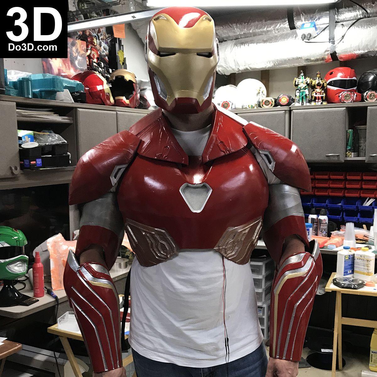 3D Printable Model: Iron Man Mark XLVIII Full Upper Body ...