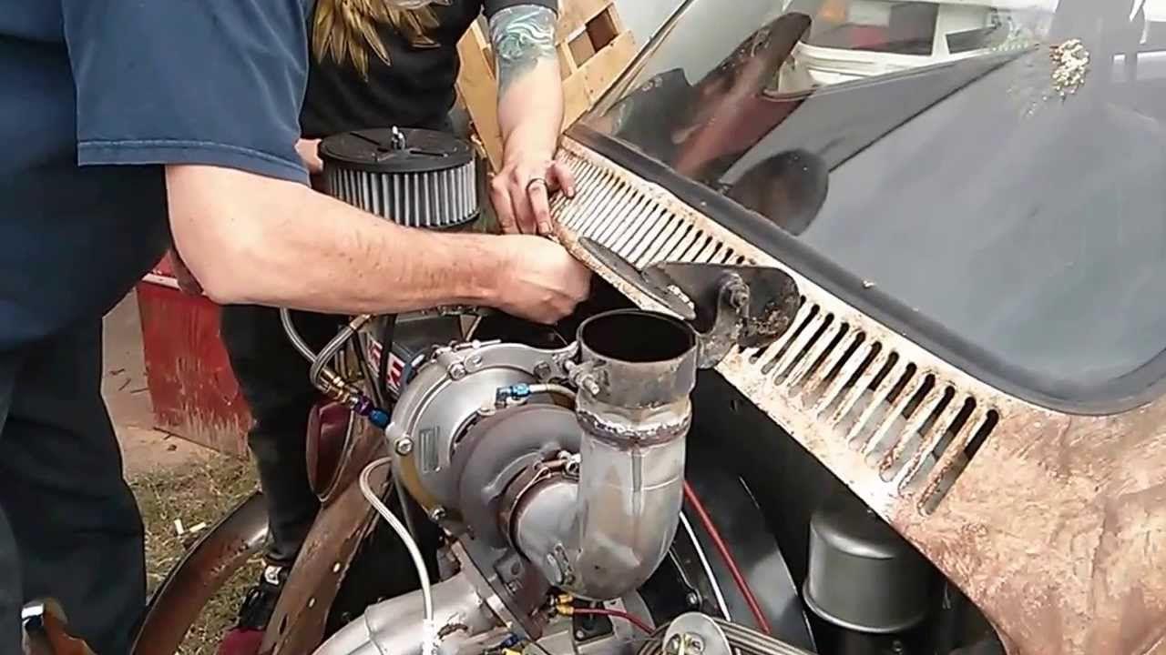 1966 VW Bug 2332cc Turbo T3/T4. Dung beetle #streetoutlaws #farmtruck #azn