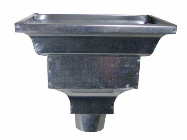 Shop Standard Leader Head Galvanized Steel Galvanized Gutters Gutters Galvanized Steel
