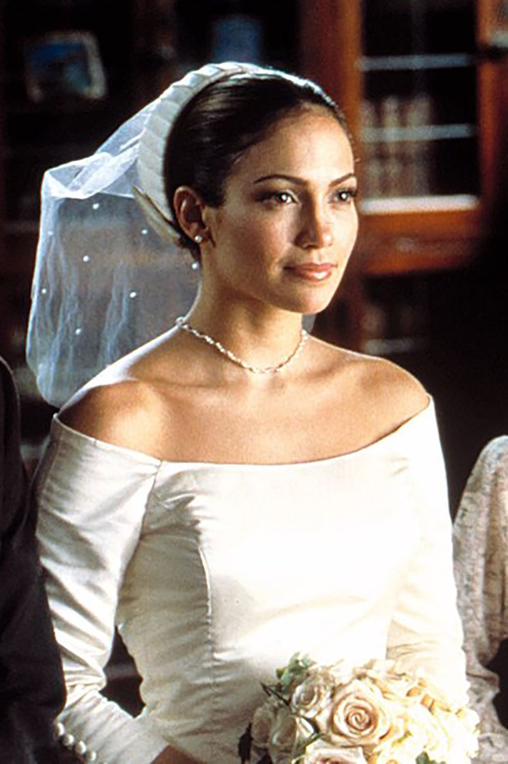 The 36 Most Iconic Movie Wedding Dresses Ever Movie Wedding Dresses Wedding Movies Wedding Planner Movie