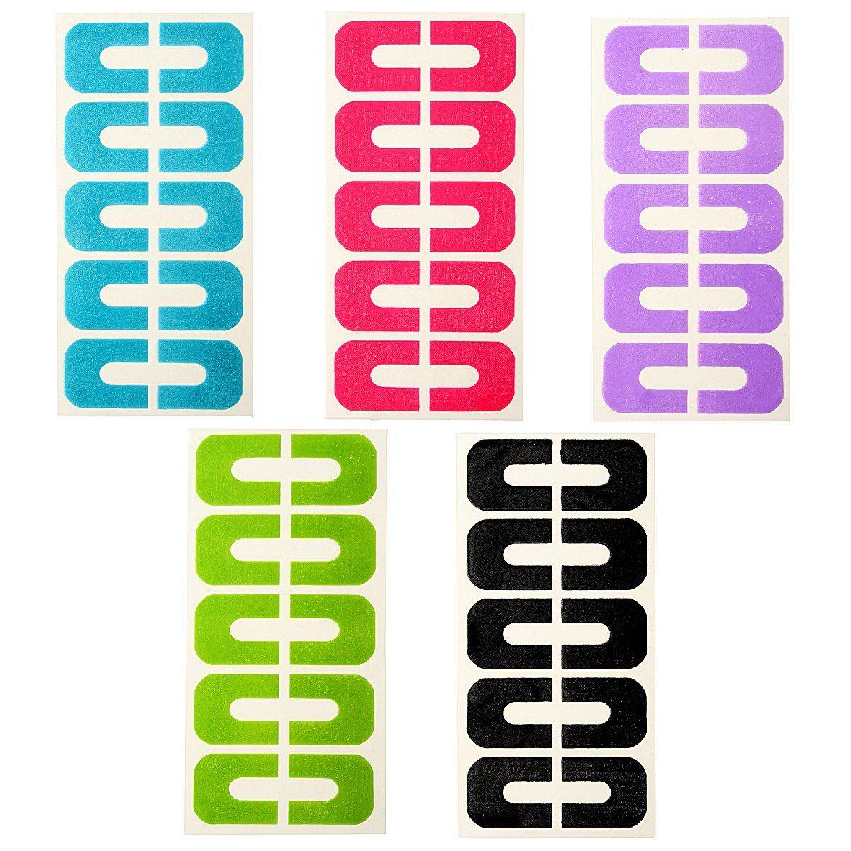 50pcs Peel Off Tape Nail Protector for Nail Art Painting Polish UV ...