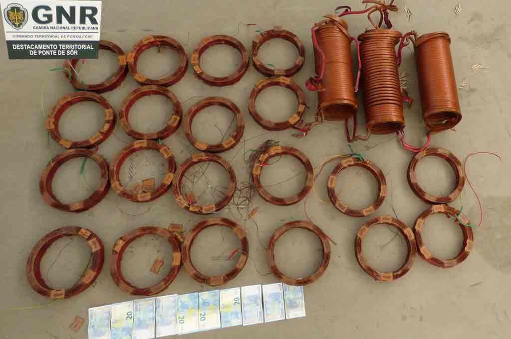 Ponte de Sôr: Dois detidos por furto de metais não preciosos | Portal Elvasnews