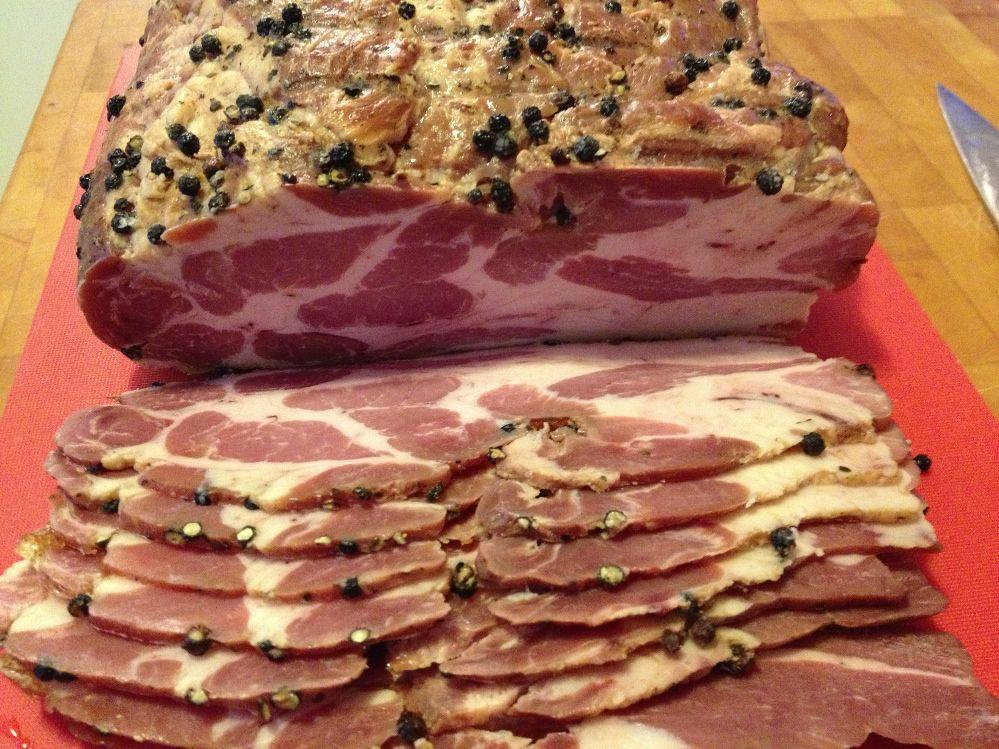 Making Cottage or Buckboard Bacon